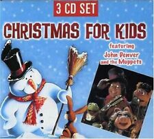 JOHN DENVER & THE MUPPETS - Christmas Together / Xmas For Kids - 3 CDs