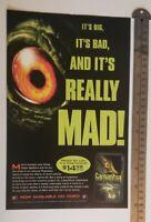 Gargantua Movie RARE Print Advertisement