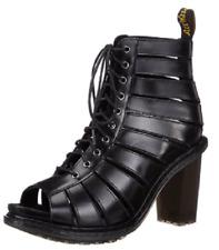 Doc Martens sexy Black Buttero Emilyann lace up sandal / shoe UK8 US10 L US9mens