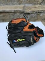 "WILSON 9.5"" EZ Catch Leather Baseball Glove A0425 Z95 EZ-Catch Web RHT T-Ball"
