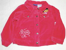 Dora the Explorer Pink Jacket Size 3T