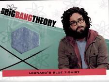 BIG BANG THEORY - SEASON 3&4 - LEONARD'S BLUE T-SHIRT CARD - M09 - BV$50