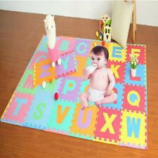 Colorful 36 Pcs Eva Floor Play Mat Alphabet Numbers Baby Room Abc Foam Puzzle Us