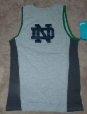 NEW NCAA Notre Dame Fighting Irish Tank Top Shirt Youth Boys M Medium 10 12 NWT