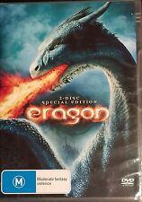 Eragon (DVD, 2007, 2-Disc Set)  BRAND NEW NOT SEALED