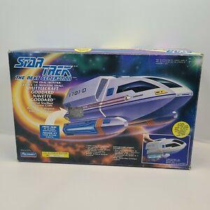 Star Trek TNG Space Final Frontier Shuttlecraft Goddard Ship VTG 1992 Playmates