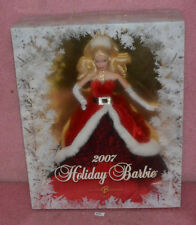 Mattel 2007 Holiday Barbie K7958.