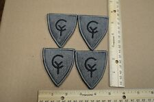 Lot of 4 38th Infantry Division Subdued Unit Patches ACU