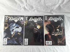 The Punisher Comic Books #46 #47 #49 Max Comics 2007