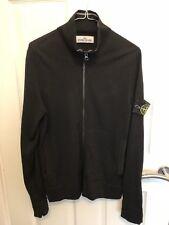 STONE ISLAND sweater maglione zip completa colore nero taglia M ORIGINALE