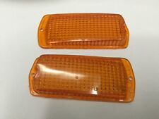 DATSUN 120Y B210 510 240Z 260Z 280Z Side Marker Lights LENS ORANGE 2 PCS