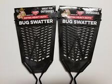 Enoz Extra Heavy Duty Flyswatter *2 Pack* Ships Fast! Ships Free! Nwt