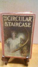 1908 THE CIRCULAR STAIRCASE BY MARY ROBERTS RINEHART(B-108)