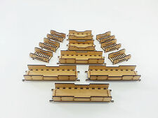 Bridges and Ladders for our 28mm Buildings Miniature games MDF Terrain