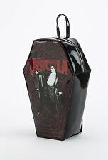 Rock Rebel Dracula Coffin Backpack Bag Bookbag Movie Vampire Horror Punk Goth