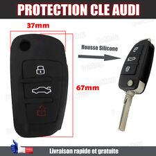 Housse clé Audi A3 A4 A6 A8 TT Q7 Protection silicone télécommande à distance