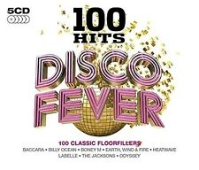 100 GREATEST HITS DISCO DANCEFLOOR CLASSICS NEW SEALED 5CD BOX SET LOVE TRAIN