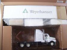 """Rare"" Weyerhauser Kenworth T600 Semi w/45' Dry Wall Van Trailer Pem #M70511"