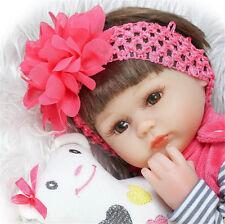NPKDOLL 17'' BAMBOLA REBORN BABY DOLL LIFELIKE REALISTICO SILICONE BAMBINO TOY