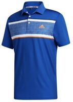 New With Tags! Adidas Golf Men's Ultimate 365 Chest Print Polo Shirt NEW - Royal