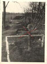 15489/ Originalfoto 8x11cm, Deutsche Soldatengrab, Russland, 1941