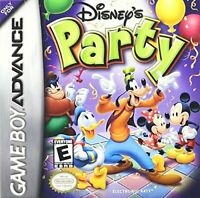 Disney's Party - Nintendo Game Boy Advance