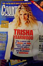 Trisha Yearwood Covers Country Weekly May 2000 Alan Jackson