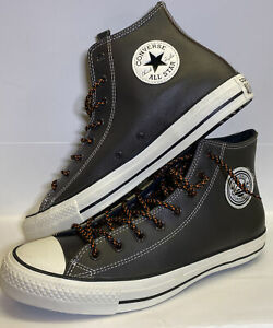CONVERSE • CHUCK TAYLOR ALL STAR TUMBLED LEATHER MOUNTAIN CLUB Size 12