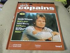 "CD-LIVRE ""SALUT LES COPAINS 1973"" Claude FRANCOIS, Johnny HALLYDAY, Frederic FRA"
