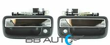 NEW FRONT EXTERIOR CHROME DOOR HANDLES SET RH&LH FITS 1995-2004 TOYOTA TACOMA