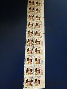 Scott #1596..... 13 Cent ...Eagle & Shield... Plate Block of 20 Stamps
