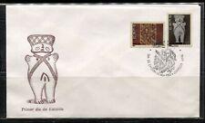 "PERU 1993, PRE - COLUMBIAN ""CHANCAY"" CULTURAL ARTIFACTS, Scott 1062-1063 on FDC"