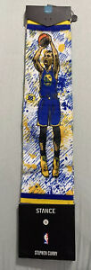 Stance Steph Curry Future Legends TF Todd Francis Artist Socks Size Large 9-12
