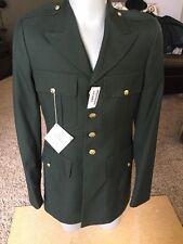 New 1970s Vtg Vietnam  US Military army Dress Blazer Jacket Uniform Mens 38 xl
