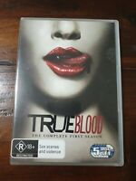 True Blood Season Season 1 (DVD 5-Disc Set) Australian Region 4 Free Post (B6)