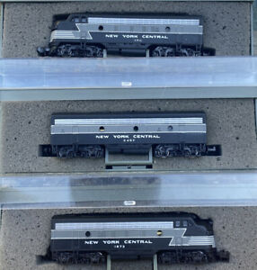 n scale EMD F7 New York Central 20th century limited passenger Diesels NYC 3RD#