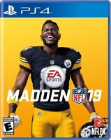 PLAYSTATION 4 PS4 VIDEO GAME NFL FOOTBALL 2019 BRAND NEW AND SEALED