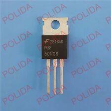 10PCS MOSFET Transistor FAIRCHILD TO-220 FQP50N06 50N06