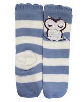 Foxbury Ladies Girls Stretch Snuggly Pastel Fleece Unicorn Footlet Slipper Socks