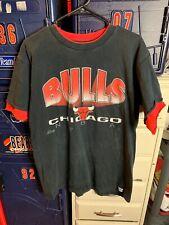 1990s Salem Sportswear Chicago Bulls T Shirt Vintage Mens L