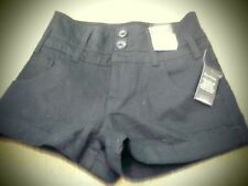 NEW BLACK MISS SELFRIDGE HOT PANTS SHORTS SIZE 8 COTTON WITH 5 POCKETS