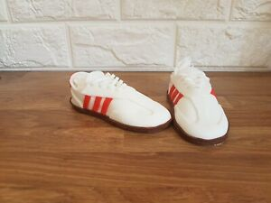 Edible adidas trainer cake topper decorations