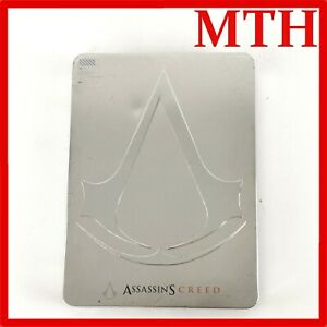 Assassins Creed Pre Order Steelbook Steel Tin 2006 Ubisoft PC HTF RARE