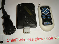 NEW !! ChieF WIRELESS plow controller for western MVP Fisher V 10 pin models