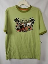 Disney Parks Walt Disney World Green Short Sleeved Men's Tee Shirt Size M