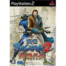 Used PS2 Sengoku Basara 2 Heroes Japan Import
