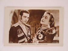 Movie Star Film Cinema Artist Couples,Rudolph Valentino and Louise Dresser