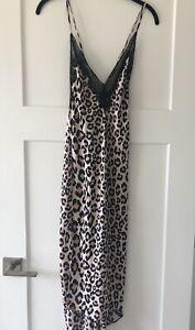 Victorias Secret Leopard Slip S