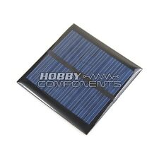 HOBBY COMPONENTS LTD Solar Panel 5.5v 90mA 0.6W Mini Solar Cell 6.5 x 6.5cm
