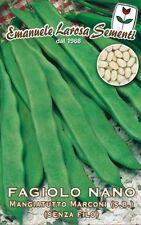 Semi/Seeds FAGIOLO Nano Mangiatutto Marconi s.b Senza Filo